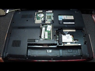 HP Pavilion DV Series Part 1: Disassembly