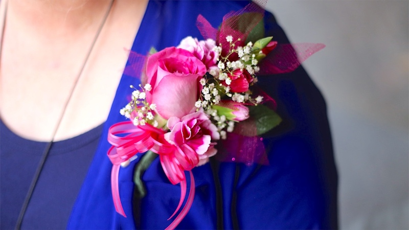 How To Make A Corsage For Prom! Pin On Or Wrist Corsage!