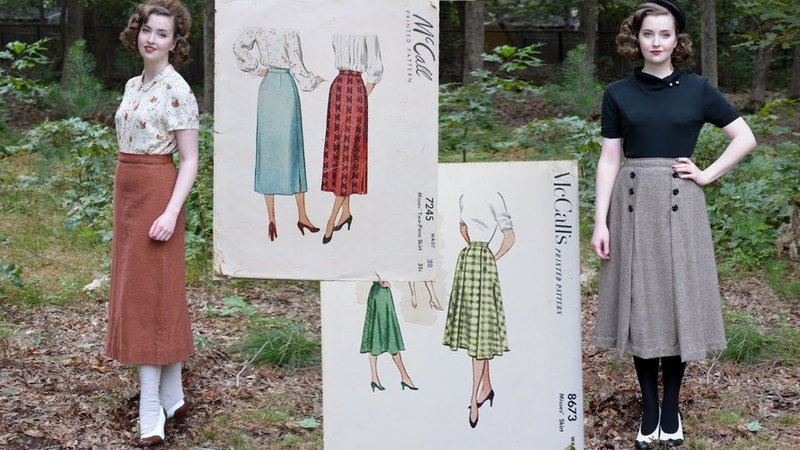 Following 1950s Skirt Patterns Sewing through the Decades