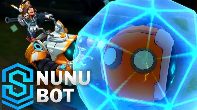 Nunu Bot 2018 Skin Spotlight - Pre-Release - League of Legends