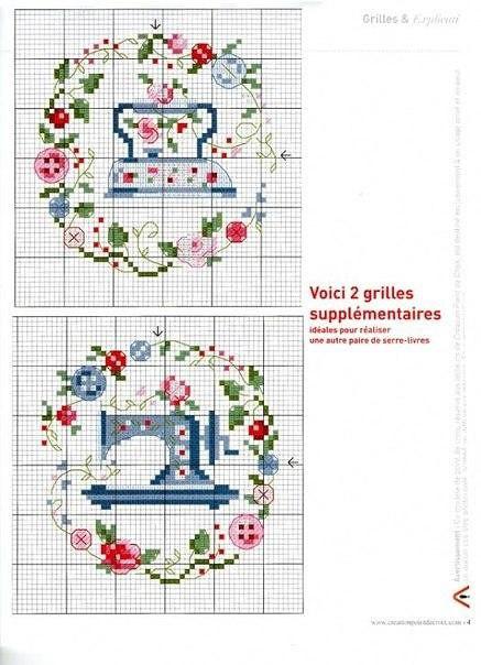 Швейные машины схемы для вышивания