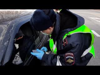 Полицейские региона разъясняют гражданам правила соблюдения самоизоляции