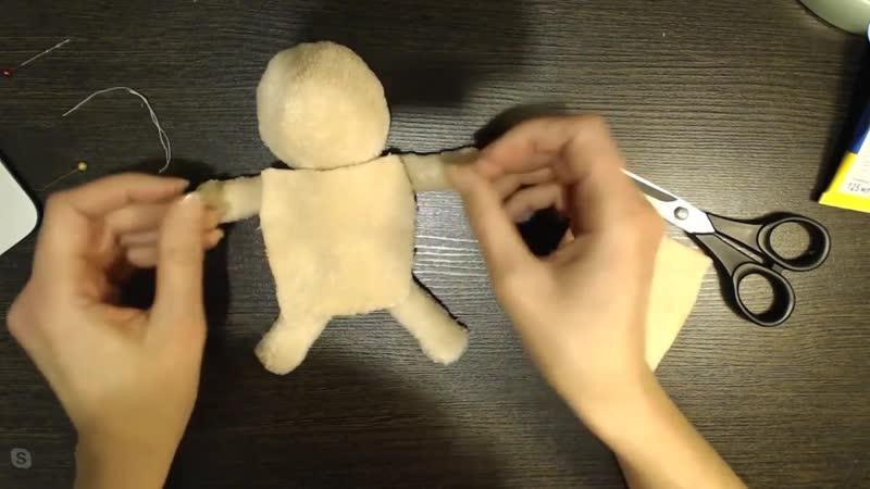 Создаём милую Свинку-балеринку, Кукольная мастерская, Екатерина Сосина (1)