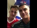 Габулов и Головин видео-привет из раздевалки