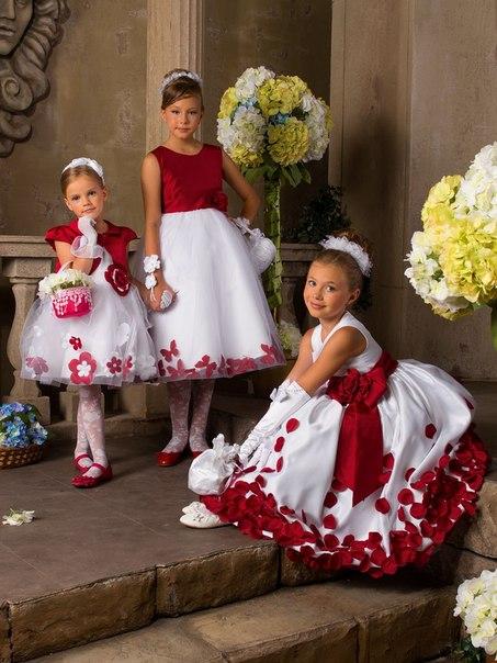 Платья для детей