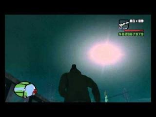 НЛО в GTA San Andreas! Шокирующие кадры!