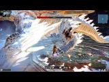 Vindictus без лишнего трепа - Испытание Lynn против босса серебряного дракона
