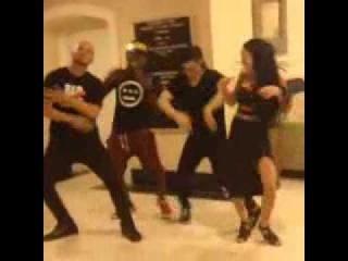 Skrillex Learning Dancehall Steps from Blacka Di Danca