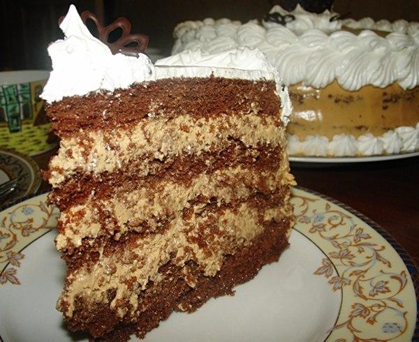 торт карамель рецепт
