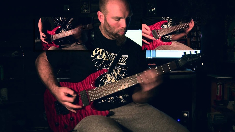 Blood Red Throne - Smite guitar by Død