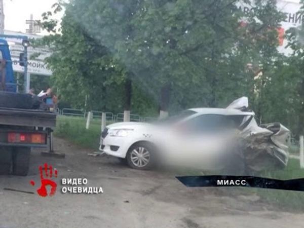 Страшное ДТП в Челябинской области Столкнулись большегруз и самосвал