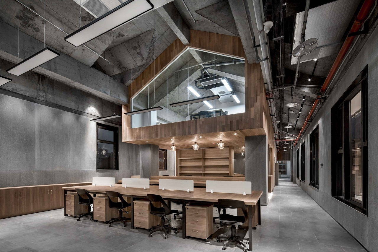 Zhongshan Road CoWorking Space | VARY DESIGN
