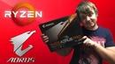 Обновил свой игровой ПК / Gigabyte Aorus B450 PRO / Ryzen 2600 4 GHz