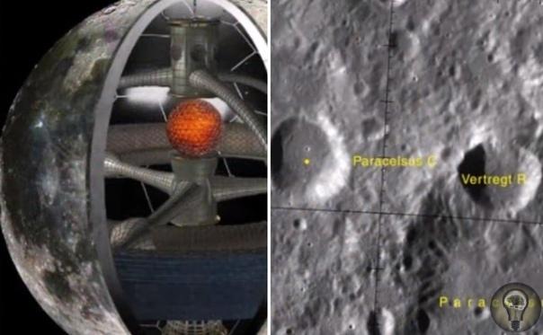 Уфологи: Внутри Луны может находиться 300-километровый бункер