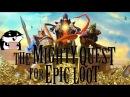 Героический грабёж. Mighty Quest For Epic Loot с Сибирским Леммингом