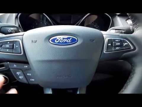 Ford Focus 3 Форд Фокус 2015 Рестайлинг 1 6 125 лс PowerShift интерьер , экстерьер Часть 1я