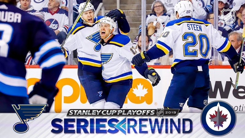 SERIES REWIND Blues ground Jets in six games