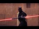 Квай Гон Джинн и Оби Ван Кеноби против Дарта Мола Звездные войны Эпизод 1
