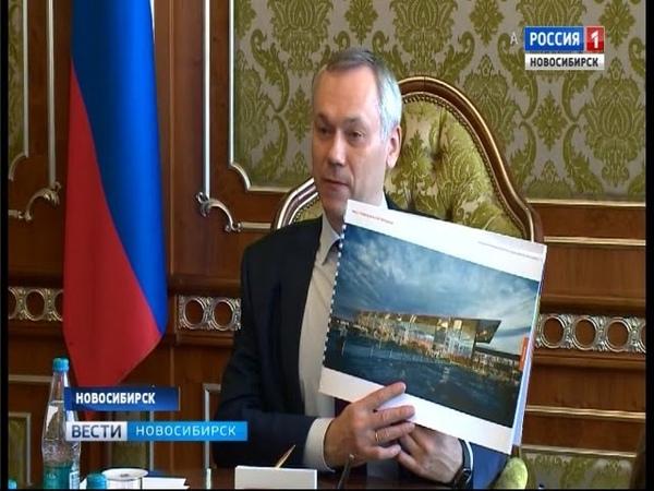 Проект нового терминала аэропорта Толмачёво обсудили в Новосибирске