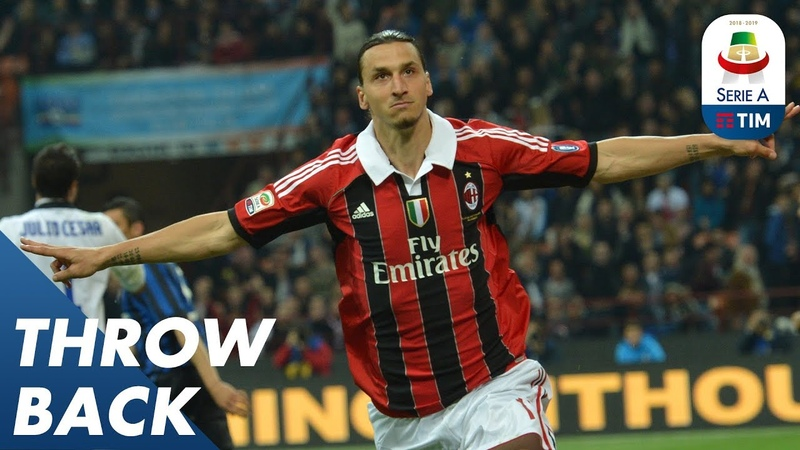 Zlatan Ibrahimović's Top 5 Goals In The League | Throwback | Serie A