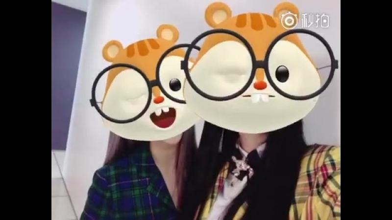 [SNS] Wjsn Eunseo update weibo with Yeoreum