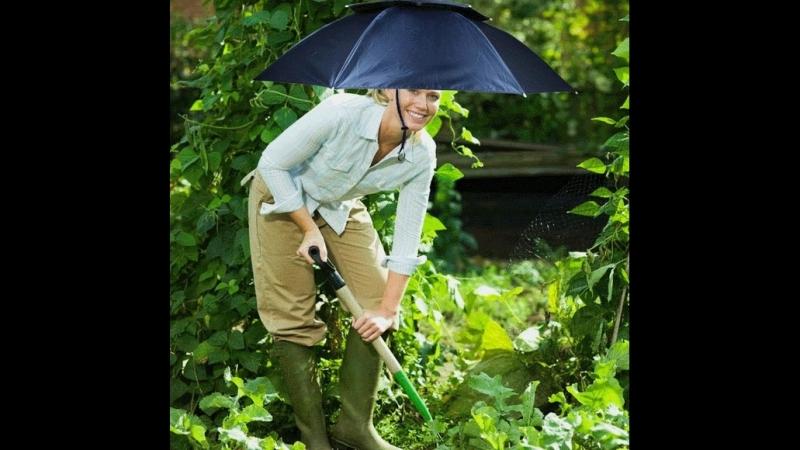 36″ Double Layer Umbrella Hat