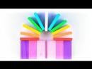 Цветные плашки Томик 28 деталей