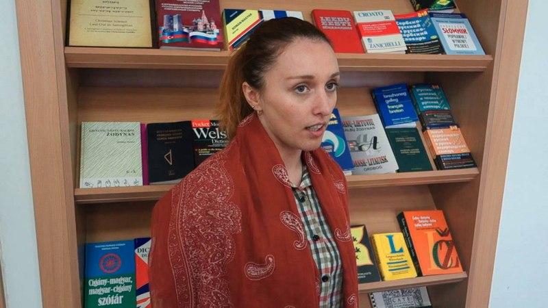 Baltistikos programos LEU LKK centro studentai deklamuoja lietuvių poeziją, 2016