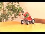 Ketchup Balboa #робот #кетчуп #прикол #когда_нехрен_делать #лень #coub
