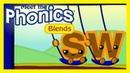 Meet the Phonics Blends - sw