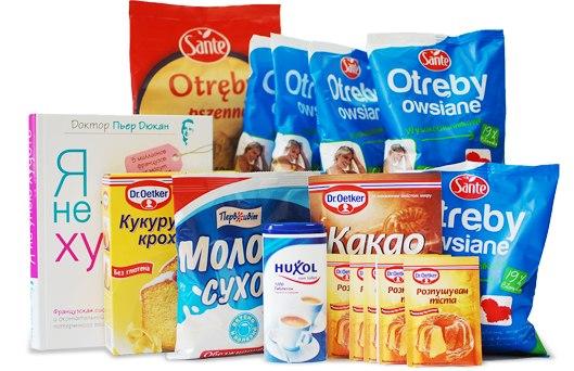 Отруби овсяные диетические, 500 г, диета дюкана, цена 50 грн.