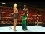 Hornswoggle Gives Maryse a Ring Pop