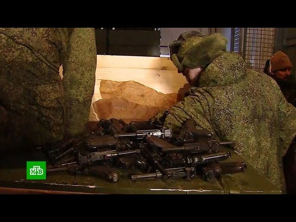 В Минобороны показали оружие которое переплавят для строительства храма