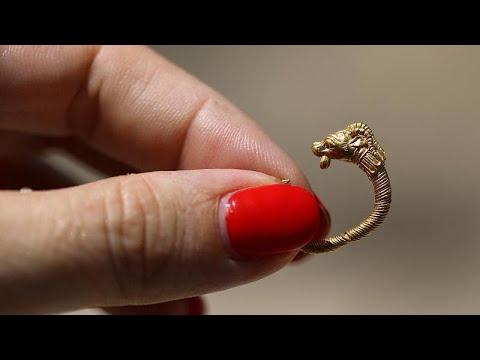 Ιερουσαλήμ: Ανακαλύφθηκε χρυσό σκουλαρίκι των ε9