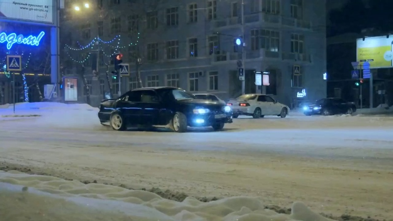 Street Drift - Police Problems - г. Новосибирск