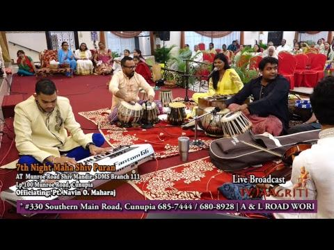 Maha Shiv Raatri Celebration At Munroe Road Shiv Mandit pt4
