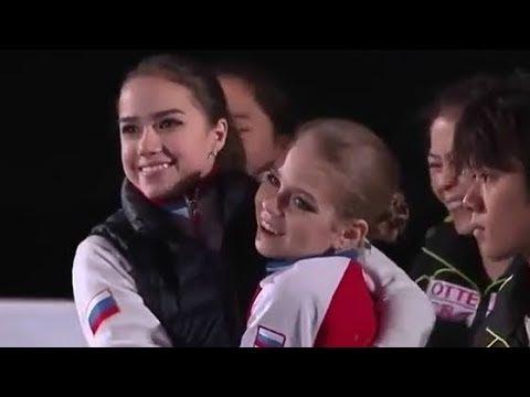Алина Загитова и Александра Трусова - Мы милашки...!