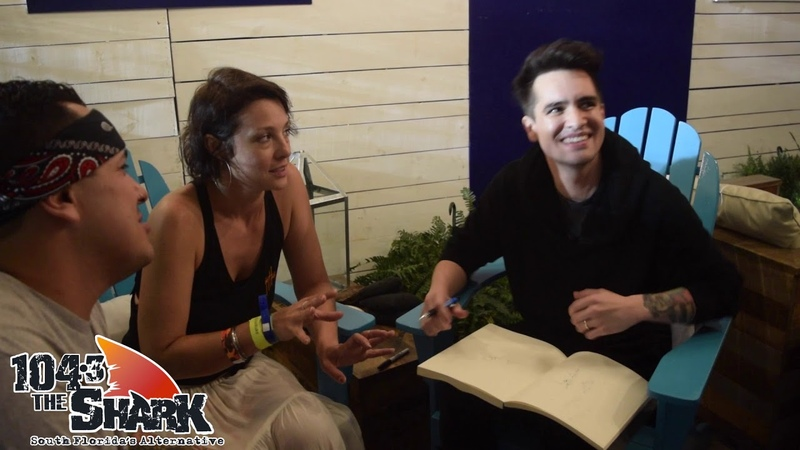 Brendon Urie and The Big Mistake Sketch it Out at Riptide Music Festival 2018