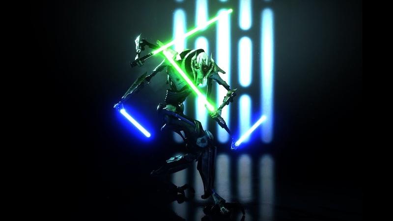 Самый первый раунд за Генерала Гривуса в Star Wars Battlefront 2