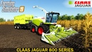 Farming Simulator 19 - CLAAS JAGUAR 800 SERIES In the Corn Field