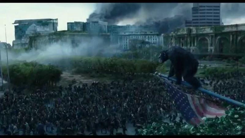 Планета обезьян 2: Революция смотреть онлайн бесплатно фильма трейлер