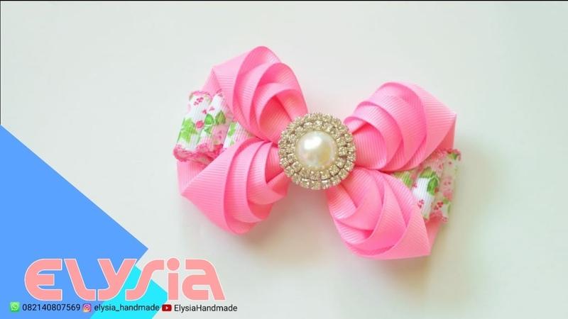 Camada de Fita Layered Ribbon Bow Part II 🎀 DIY by Elysia Handmade