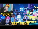 Streamers React to 'MARSHMELLO CONCERT' *EVENT* in Fortnite (Full Event)