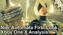 4K Nier Automata Xbox One X First Look Is It Really A 4K Game