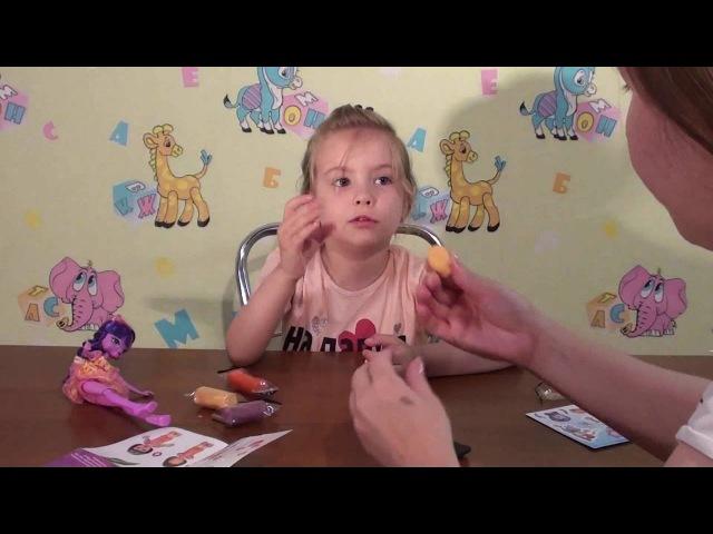 Лепим игрушку Даша путешественница из пластилина Dora the Explorer to make toys from plasticine