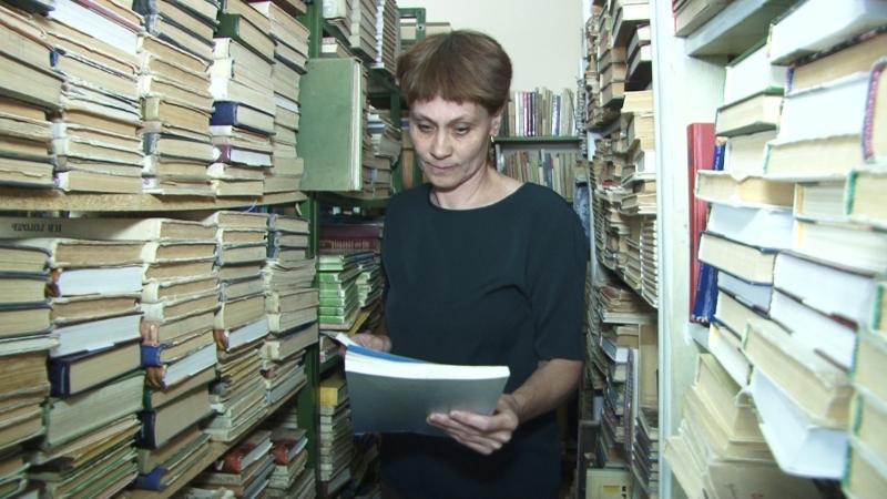«Один из народа» библиотекарь Людмила Волкова