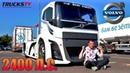 обзор VOLVO на 2400 Л С САМЫЙ БЫСТРЫЙ ГРУЗОВИК в МИРЕ Trucks TV Вольво Железный Рыцарь