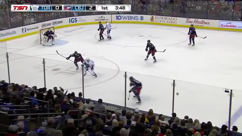 Игорь Ожиганов набрал первое очко в НХЛ 👍🇷🇺💪