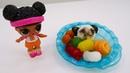Bonecas LOL em Português Brincando massinha Play Doh