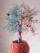Вот такое дерево Любви я подарила своему любимому на День Святого Валентина.